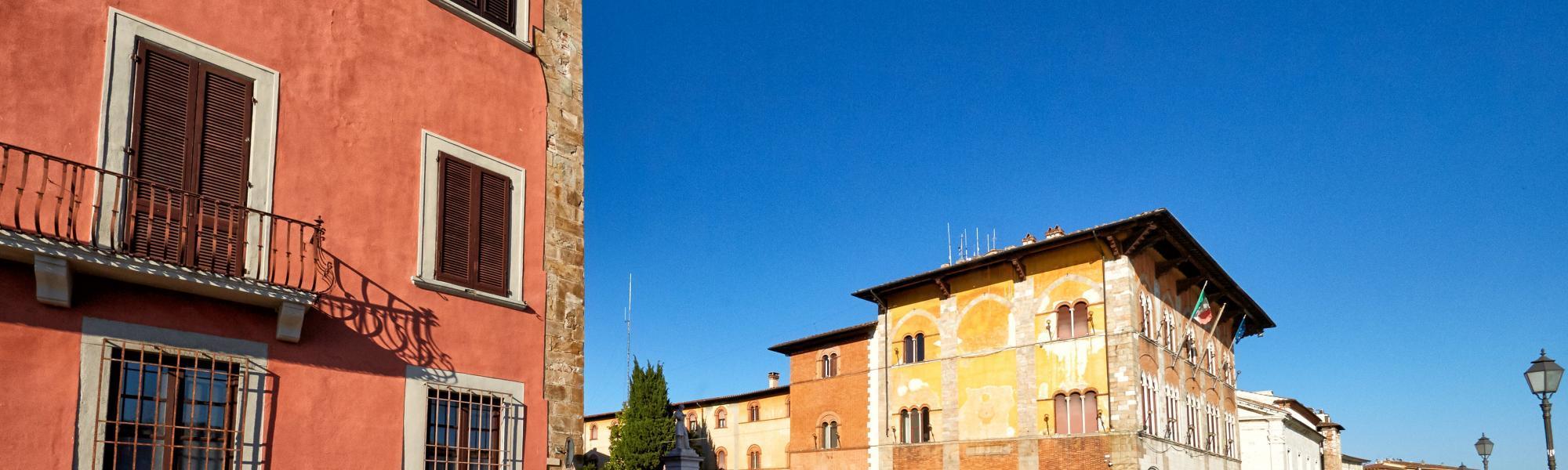 Lungarno Mediceo, all'altezza di Piazza Mazzini (M. Cerrai, Comune di Pisa)