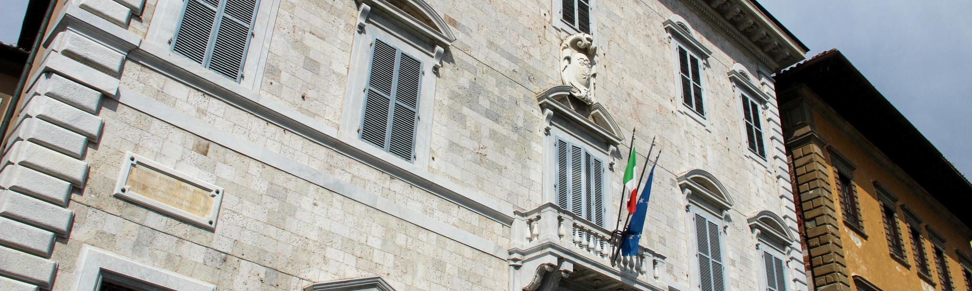 Facciata Palazzo Toscanelli _ Archivio di Stato (G. Bettini, Comune di Pisa)