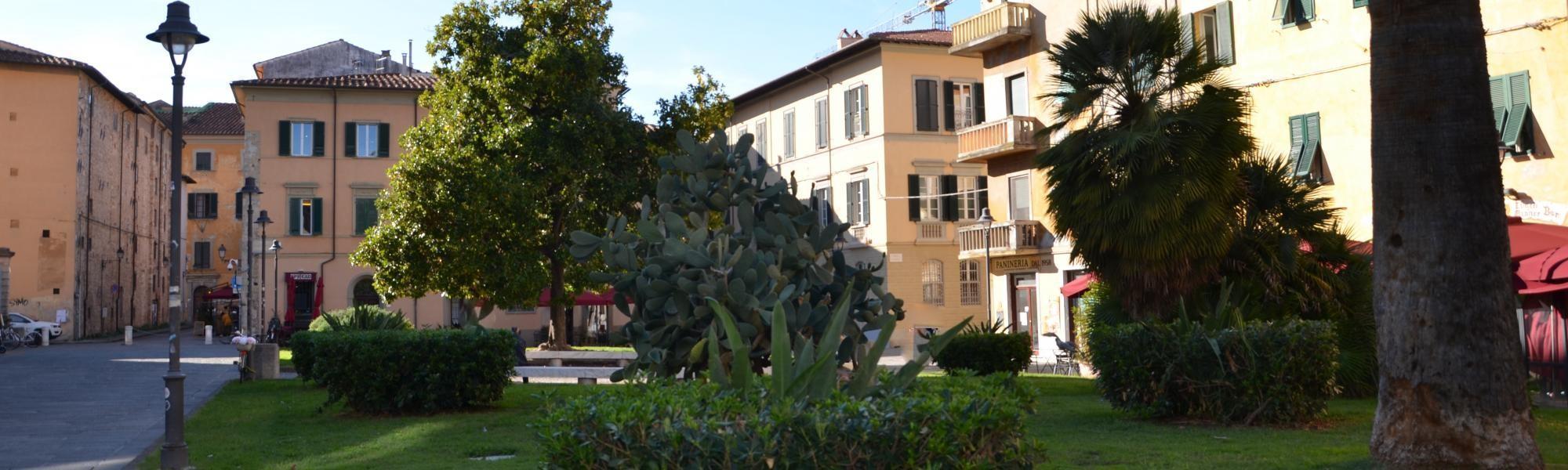 Piazza Dante (L. Corevi, Comune di Pisa)