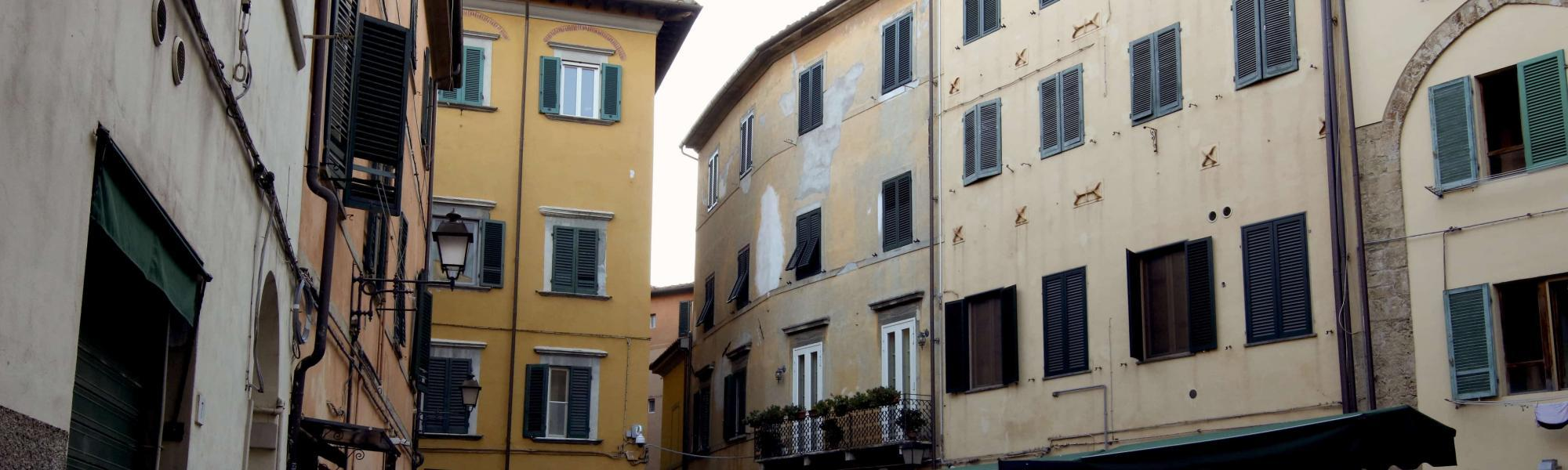 Scorcio Piazza Sant'Omobono (A. Matteuci)