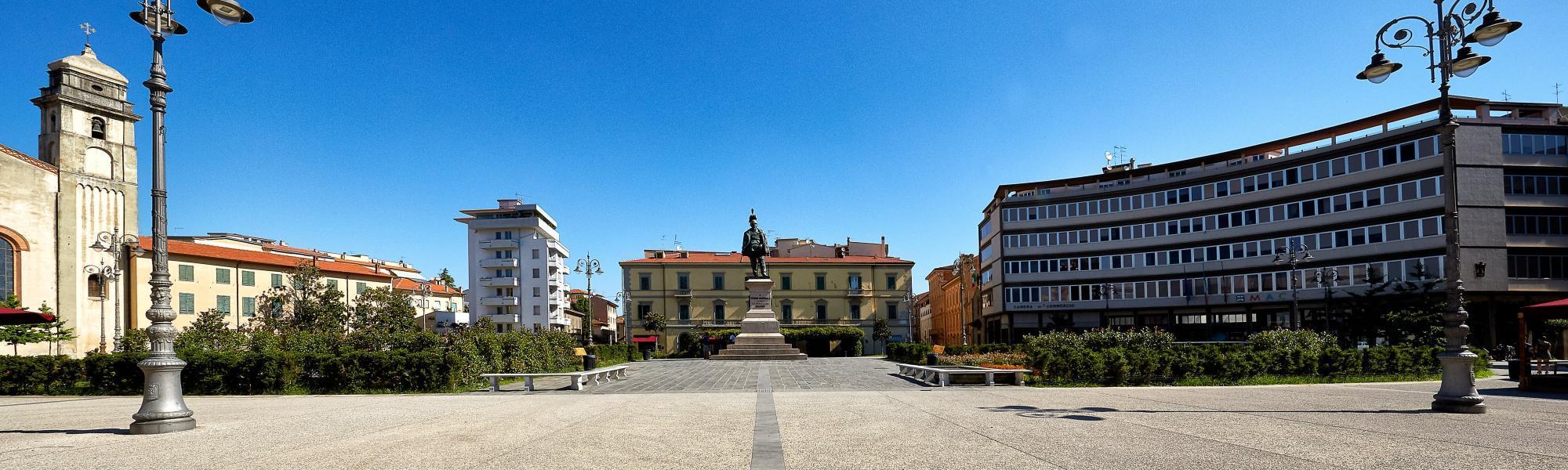 Piazza Vittorio Emanuele II (M. Cerrai, Comune di Pisa)