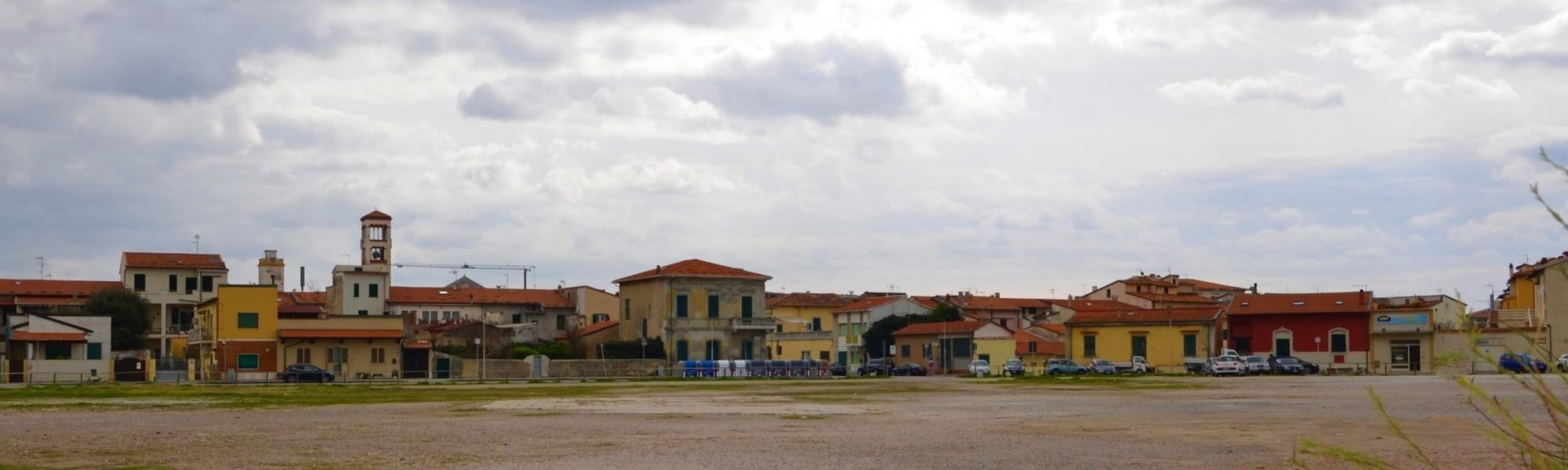 Piazza Viviani, Marina di Pisa (L. Corevi, Comune di Pisa)