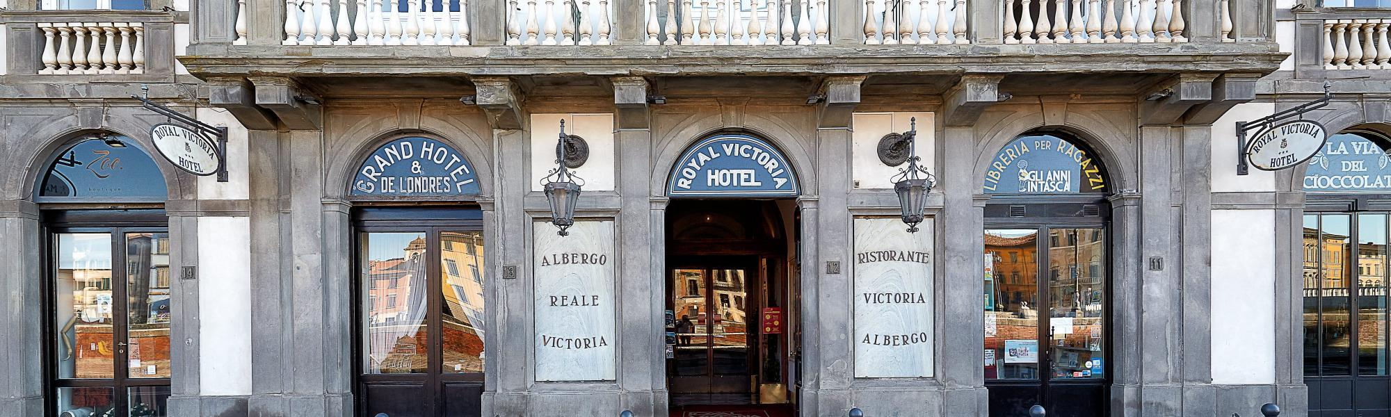 Royal Victoria Hotel, facciata (M. Cerrai, Comune di Pisa)