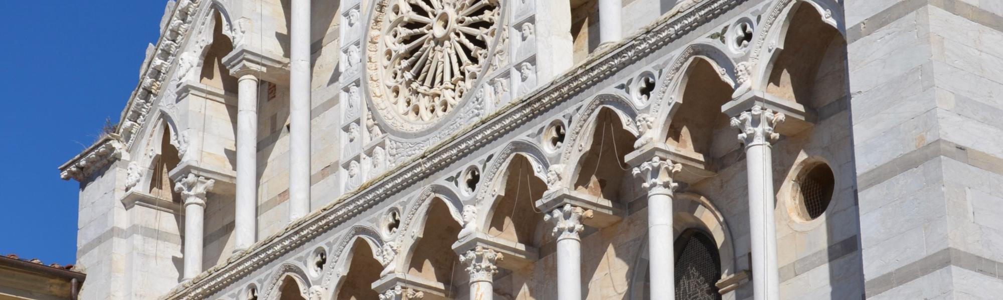 Facciata Chiesa di Santa Caterina (L. Corevi, Comune di Pisa)