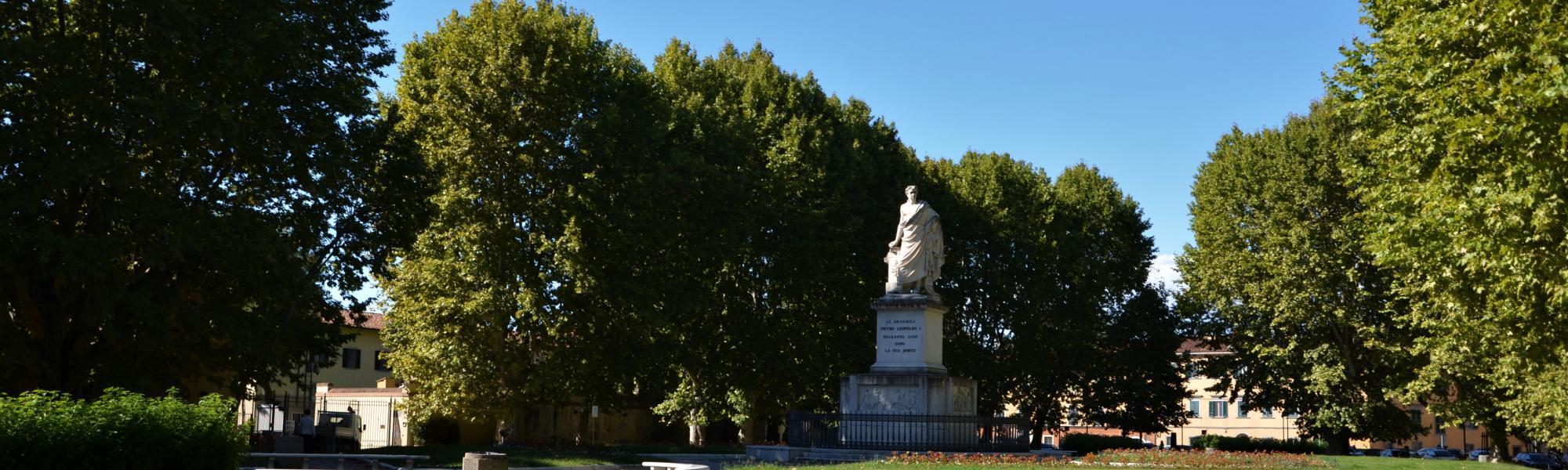 Piazza Martiri della Libertà (L. Corevi, Comune di Pisa)