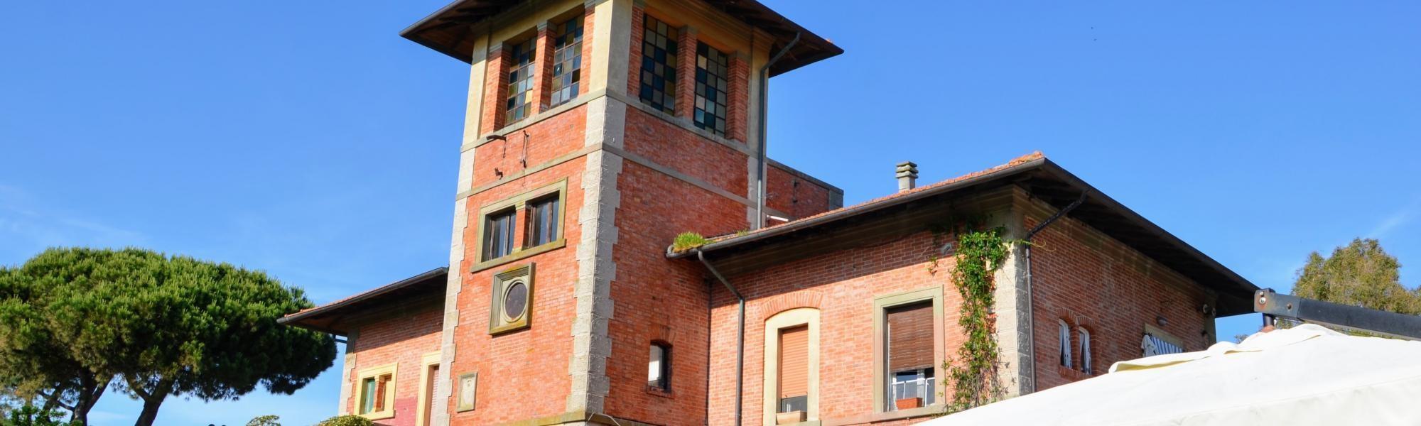 Vecchia stazione elettrica Tirrenia (R. Cardini)
