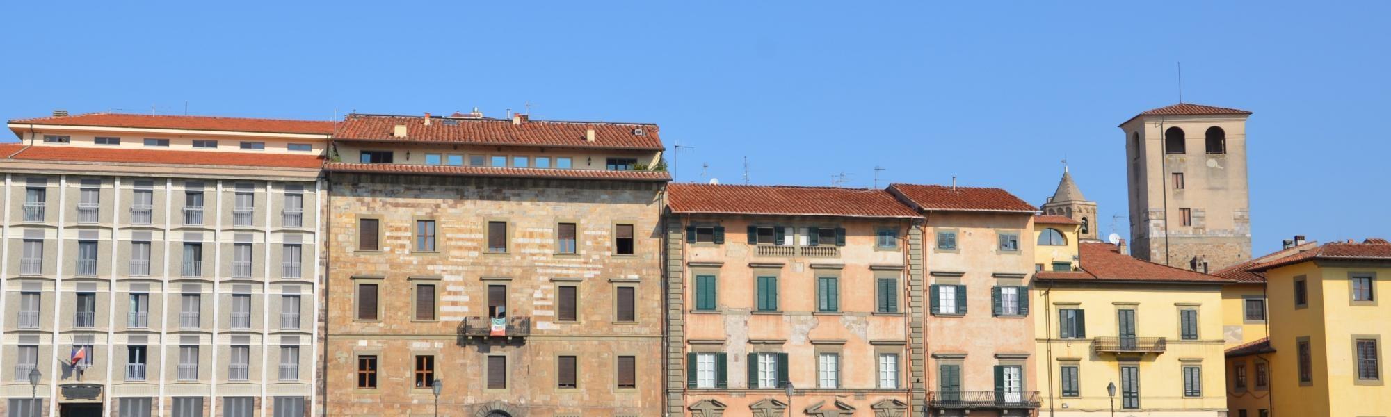 Palazzo Ricucchi, lungarno Pacinotti (L. Corevi, Comune di Pisa)