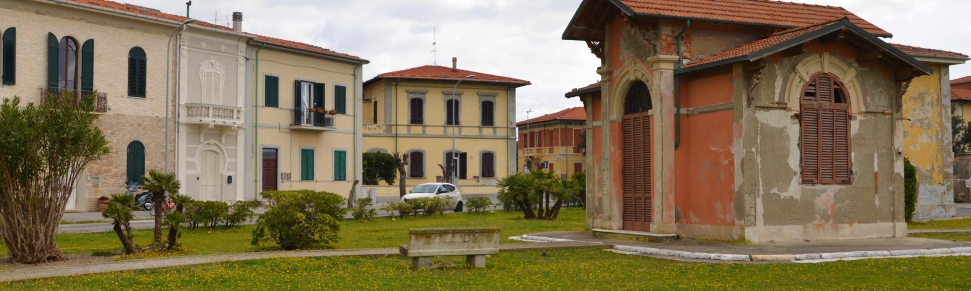 Scorcio via Minorca (L. Corevi, Comune di Pisa)