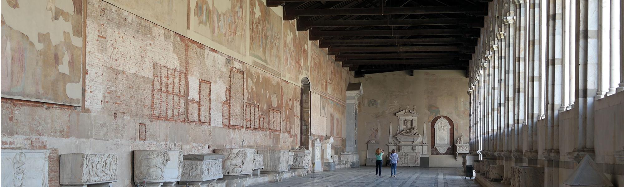 Camposanto monumentale di Pisa - corridoio