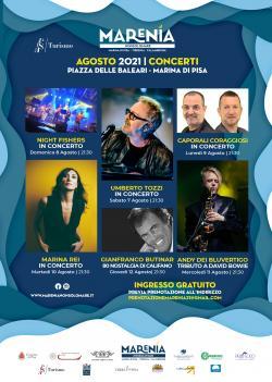 Marenia Non Solo Mare 2021 - I concerti