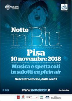 Notte In Blu Manifesto