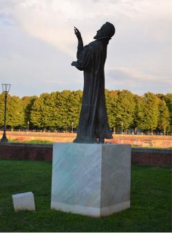 Statua di Galileo Galilei alla Cittadella (L. Corevi, Comune di Pisa)