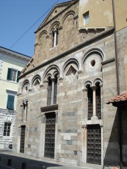 Facciata - Chiesa di San Pietro in Vincoli (P. Fisicaro)