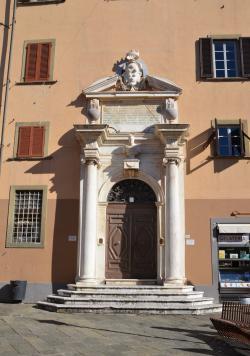 Particolare Collegio Ferdinando (L. Corevi, Comune di Pisa)