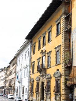Facciata Palazzo Roncioni (G. Bettini, Comune di Pisa)