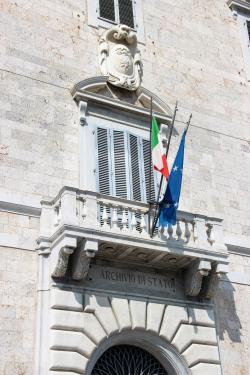 Entrata Palazzo Toscanelli _ Archivio di Stato (G. Bettini, Comune di Pisa)