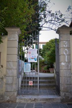 Cancello Parco Santi Cosimo e Damiano (L. Corevi, Comune di Pisa)