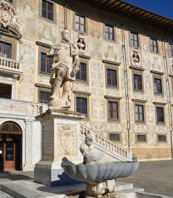 La statua di Cosimo I dei Medici (L. Corevi, Comune di Pisa)