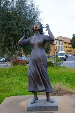 Kinzica de'Sismondi, piazza Guerrazzi (L. Corevi, Comune di Pisa)