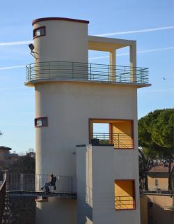 Torre peziometrica ( da Mura di Pisa, www.muradipisa.it)