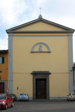 Facciata -  Chiesa di San Torpé (D. Tarantino)
