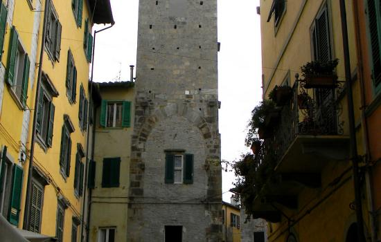 Campano Tower and other medieval buildings