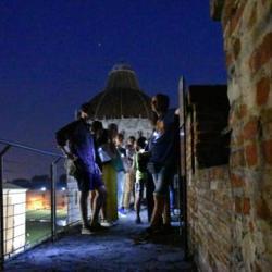 Le Mura di notte a Pisa