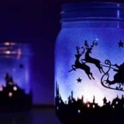 Le Lanterne Di Natale...in Blu