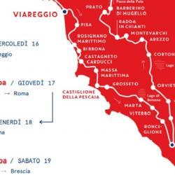 La Mille Miglia torna a Pisa nel giorno di San Ranieri