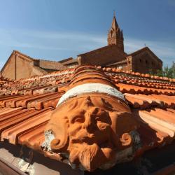 Veduta Chiesa e Chiostro di San Francesco