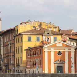 Chiesa di Santa Cristina dai lungarni (G. Bettini, Comune di Pisa)