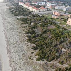 Veduta aerea spiaggia di Calambrone _ foto con drone (M. Boi, Comune di Pisa)