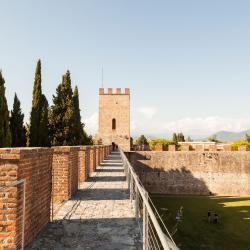 Camminamento sulle mura, Torre di Santa Maria (Le Mura)