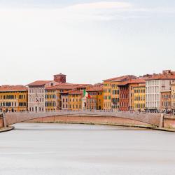Ponte di Mezzo dal Lungarno (G. Bettini , Comune di Pisa)