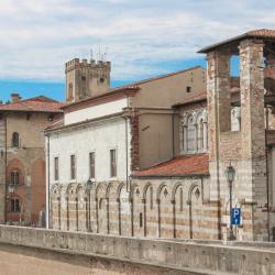 Vista della Chiesa di San Matteo (G. Bettini, Comune di Pisa)
