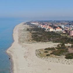 Spiagge Calambrone _ foto con drone (M. Boi. Comune di Pisa)