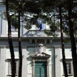 Particolare del portone di ingresso - Monastero di San Silvestro (M. Baldassarri)