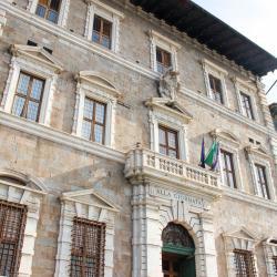 Scorcio facciata - Palazzo Lanfreducci detto 'Alla Giornata' (G. Bettini, Comune di Pisa)