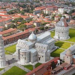 Piazza del Duomo vista dall'alto